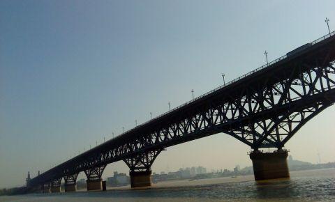 Podul Yangtze din Nanjing
