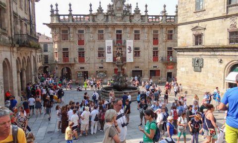 Piata Argintarilor din Santiago de Compostela
