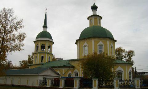 Biserica Preobrazheniya Gospodnya din Irkutsk