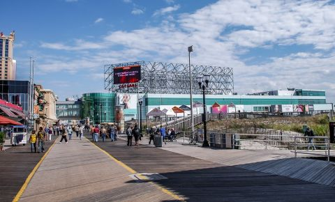 Promenada Boardwalk din Atlantic City