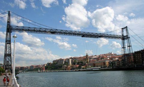 Podul Suspendat din Bilbao