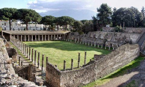Quadriportico dei Teatri din Pompei