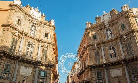 Piata Quattro Canti din Palermo
