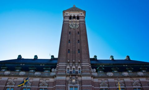 Turnul Radhustornet din Norrkoping