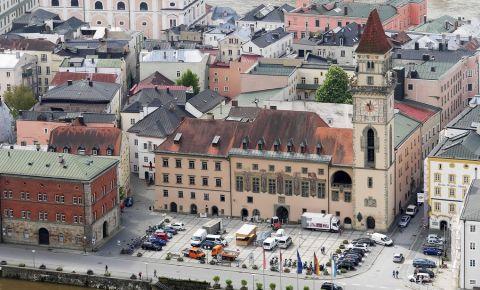 Piata Residenzplatz din Passau