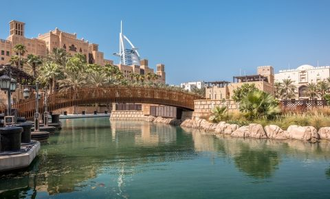 Resortul Madinat Jumeirah din Dubai