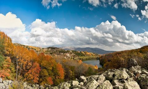 Rezervorul de Apa Cubuk Baraji I din Ankara