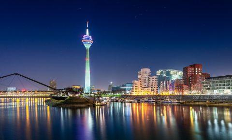 Turnul Rheinturm din Dusseldorf
