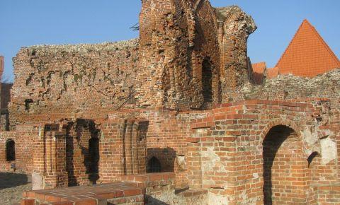 Ruinele Castelului Cavalerilor Teutoni din Torun