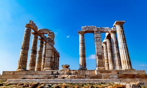 Ruinele Templului lui Poseidon din Halkidiki