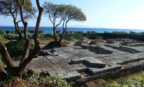 Ruinele Templului lui Zeus din Kalithea, Halkidiki