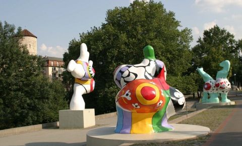 Sculpturile Nanas din Hanovra