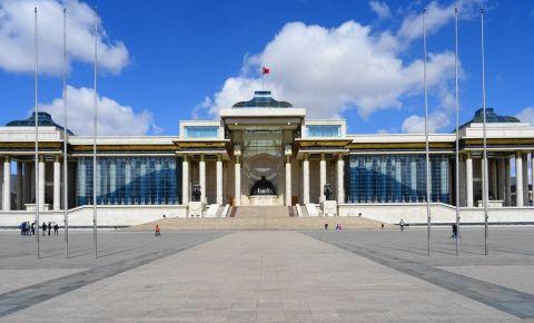 Sediul Parlamentului din Ulan Bator
