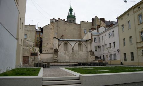 Sinagoga Trandafirul de Aur din Liov