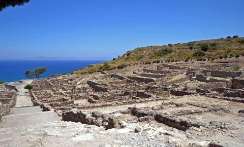 Situl arheologic Kamiros din Insula Rodos