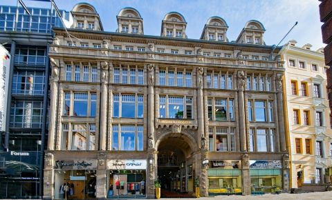 Galeria Comerciala Specks Hof din Leipzig