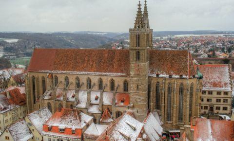 Biserica Sfantul Jakob din Rothenburg ob der Tauber