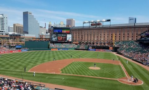 Stadionul Camden Yards din Baltimore