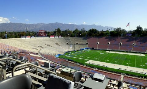 Stadionul Rose Bowl din Los Angeles