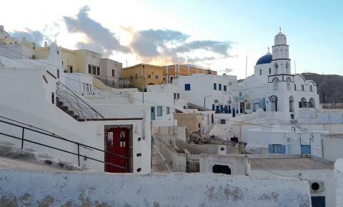 Statiunea Pygros din Insula Santorini