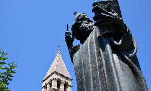 Statuia lui Gregorius din Split