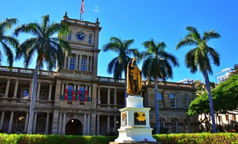 Statuia Kamehameha din Hawaii