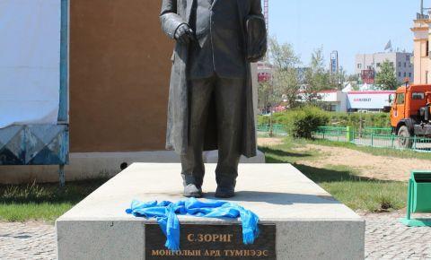 Statuia lui Zorin din Ulan Bator