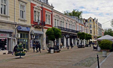 Strada Alexandrovska din Ruse