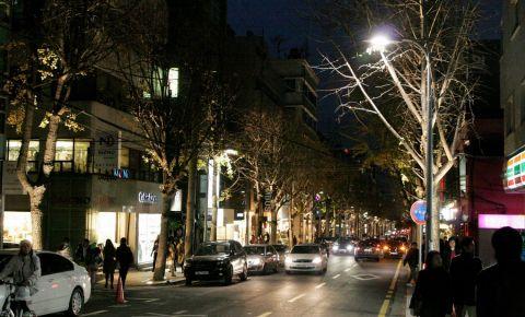 Strada Garosu Gil din Seul