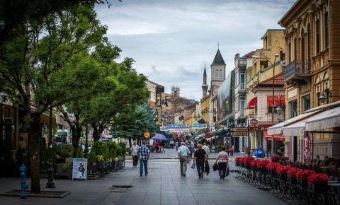 Strada Shirok Sokak din Bitola