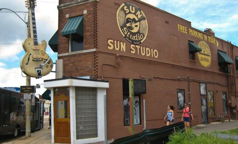 Studioul Sun Studio din Memphis