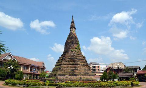Stupa Neagra din Vientiane