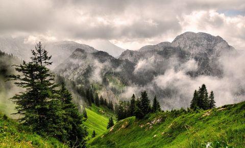 Muntele Tegelberg din Fussen