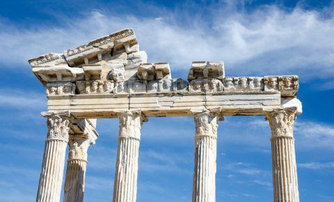 Templele lui Apollo si al Atenei din Side
