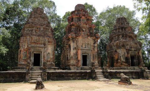 Templele Rolous din Siem Reap