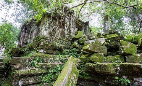 Templul Beng Mealea din Siem Reap