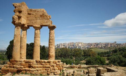 Templul lui Castor si Pollux din Agrigento