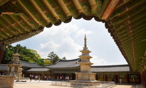 Templul Donghwasa din Daegu