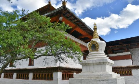 Templul Dumtse Lhakhang din Paro