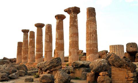 Templul lui Hercule din Agrigento