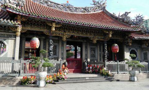 Templul Longshan din Taipei