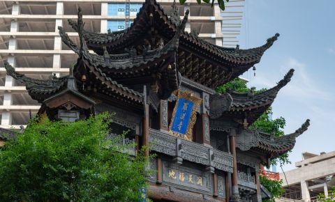Templul Luohan Si Arhat din Chongqing