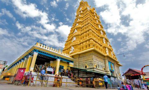 Templul Sri Chamundeswari din Mysore