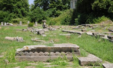 Templul Zeitei Atena din Insula Thassos