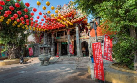 Templul Zeitei Linshui din Tainan