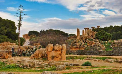 Templul lui Zeus din Agrigento
