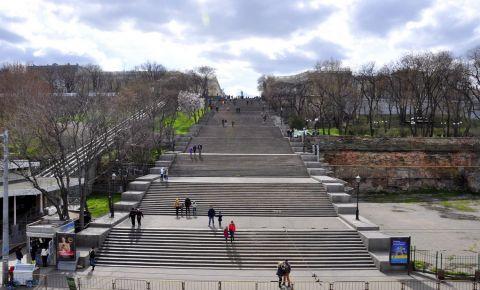 Treptele Potemkin din Odessa