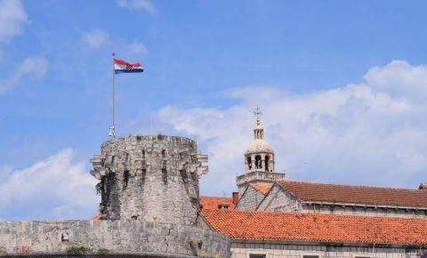 Turnul Mic al Guvernatorului din Insula Korcula