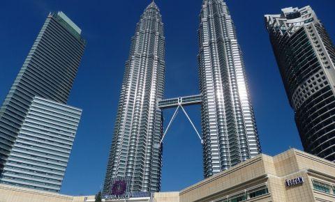 Turnurile Petonas din Kuala Lumpur