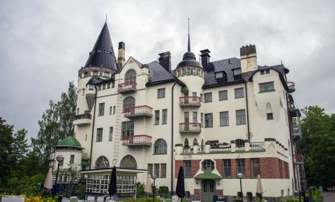 Hotelul Valtionhotelli din Imatra